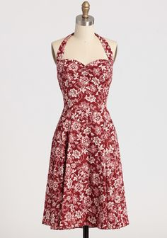 Teresa Floral Red Sweetie Dress By Heartbreaker in the Curvy Plus section of ShopRuche. Love the red and white print!
