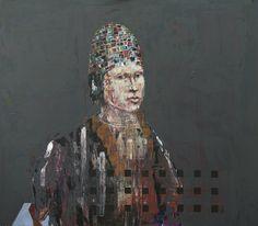 Erik Formoe - www.galleriramfjord.net Contemporary, Paintings, Faces, Painting Art, Painting, Paint, Draw, Portrait, Illustrations