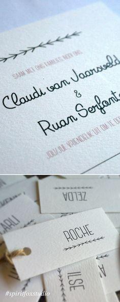 #spiritfoxstudio #graphicdesign #wedding #stationery #invitation
