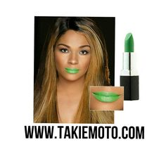 THE LIP VIXEN COLLECTION / Colour Shown: LOUD Available at www.takiemoto.com