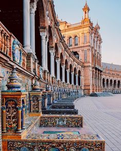 Details of Plaza de España #Sevilla