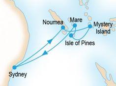 Explore the Loyalty Islands P&O Cruises cruise