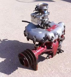 McCullough supercharger for flathead ford