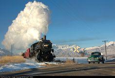 RailPictures.Net Photo: 618 Heber Valley RR Steam 2-8-0 at Heber City, Utah by Michael F. Allen