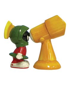 Look what I found on #zulily! Marvin the Martian Salt & Pepper Shakers by Looney Tunes #zulilyfinds