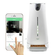 Hoison Pet Care Robot Smart Feeder Automatic Pet Feeder for Small Animal or Dog or Cat - Control by iPhone or Android ** Be sure to check out this awesome product.