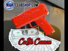 CASH CANNON Make it Rain Promo Tool Money Gun  NightclubShop