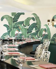 12 Restaurants and Bars with Tropical Decor Photos | Architectural Digest