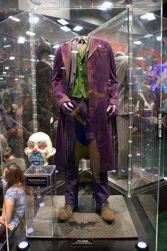 The Original Costume Worn By Heath Ledger Joker