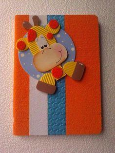 Best Material For Carpet Runners Product Craft Stick Crafts, Felt Crafts, Easy Crafts, Paper Crafts, Decorate Notebook, Diy Notebook, Preschool Art Activities, Preschool Activities, Mothers Day Cards Craft