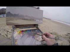 Thoughts on Painting - Episode 7 Bournemouth & Sandbanks, April 2016 - YouTube