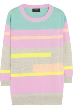 J.Crew|Vienna striped cashmere sweater    why is this $238?! UGGH