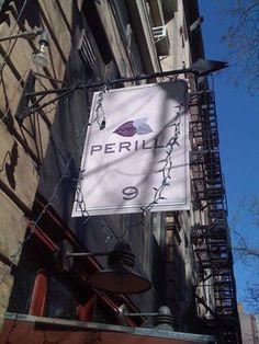 Perilla, West Village, NYC.  Harold Dieterie's (winner of Top Chef season one) first restaurant. Cooking Tv, Nyc Restaurants, Sad Day, West Village, City Living, Comfort Foods, New York City, Chelsea, Empire