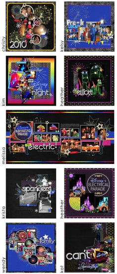 Disney . . . great page layouts