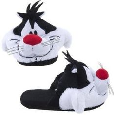 Looney Tunes Sylvester the Cat Face Plush Womens Slippers Funny Slippers, Sylvester The Cat, My Buddy, Cat Face, Looney Tunes, Womens Slippers, Funny Cats, Kids Fashion, Plush