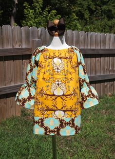 Peasant Dress by Perry & Pearl Boutique    http://www.facebook.com/PerryandPearlBoutique