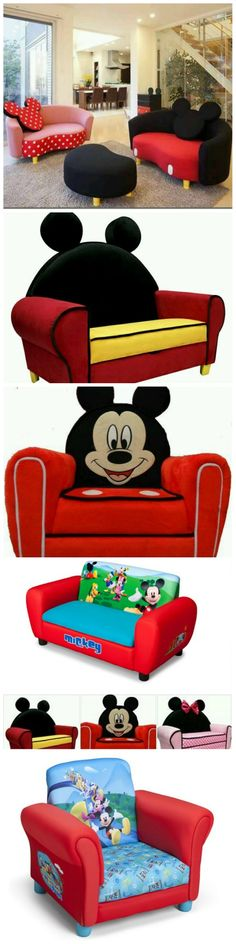 Awesome Mickey Mouse Sofa