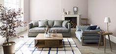 Looking for living room paint ideas? See all our pictures of living room design ideas and decorating tips Pastel Living Room, Living Room Paint, Living Room Interior, Living Room Decor, Cafe Interior, Home Interior Design, French Interior, Interior Paint, Living Room Designs