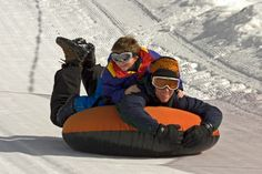 Snow Tubing at Badger Pass Ski Area in Yosemite National Park