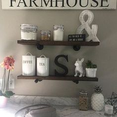 Wood Floating Shelves Kitchen Pipe Floating Shelf Industrial, Wood Floating Shelves, Kitchen Pipe Floating Shelf, Industrial Kitchen Shelving, Rustic Wall Storage and Organization, Farmhouse Chic, industrial, diy, home decor, diy decor, etsy, kitchen, living room, dining room, bathroom, family room, entry way, rustic, farmhouse, signs, shelf, plant #afflink