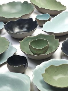 Dols & Martens tableware for Serax by Ineke Dols and Anne Martens Ceramic Tableware, Ceramic Plates, Porcelain Ceramics, Ceramic Art, Slab Pottery, Pottery Bowls, Ceramic Pottery, Pottery Art, Earthenware