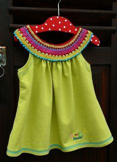 Crochet motif on top