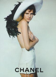Chanel, mid 90s Model: Stella Tennant
