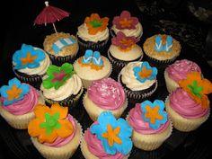 hawaiian cake themes | ... - all for a 25th Wedding Anniversary party that was Hawaiian themed