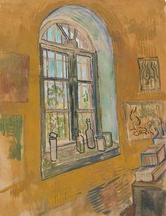 Vincent Van Gogh - Raam in het atelier, 1889