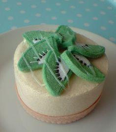Simple cake cute topper