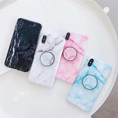 Colorful Glossy Marble Case with PopSocket - Cheap Phone Cases For Iphone 7 Plus - Ideas of Cheap Phone Cases For Iphone 7 Plus - Shipping Cell Phones Diy Iphone Case, Iphone Phone Cases, Iphone Notes, Iphone Ringtone, Iphone Charger, Cell Phone Covers, Iphone 7 Plus, Cheap Phone Cases, Cute Phone Cases