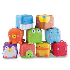 Stack 'n Squirt Pals - B Kids Shop $20