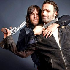 "Norman and Andy  "" """