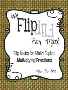 Here's a flip book on multiplying fractions. Section 1 provides a step-by-step guide for multiplying a fraction and a whole number. Section 2 demonstrates how to multiply two fractions. Section 3 focuses on how to multiply mixed numbers. Math Resources, Math Activities, Math Step By Step, Fifth Grade Math, Fourth Grade, Third Grade, Sixth Grade, Multiplying Fractions, Dividing Decimals