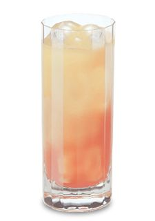 Juicy Screw (1 Part Pucker Strawberry Schnapps 1 Part Pinnacle Vodka 3 Parts Orange Juice Splash Tonic)