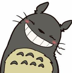 """Totoro.. """"Smile ^o^ !!!!"""" xo"""