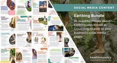 ❤️ SOCIAL MEDIA CONTENT ❤️ 🌍👣Earthing Bundle 🌍👣 Years of extensive research has shown that connecting to the Earth's natural energy, by walking barefoot on grass, sand, dirt or rock can diminish chronic pain, fatigue and other ailments that plague so many people today. This connection is referred to as Earthing or Grounding. #Earthing Social Media Images, Social Media Content, Walking Barefoot, Natural Energy, Chronic Pain, Earth, World