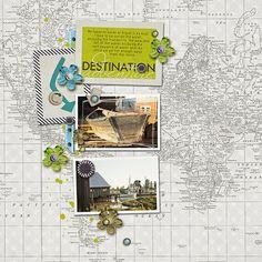 Amy Wolff Designs - Messy Marvin Vol. 5, Destination Mini Kit http://the-lilypad.com/store/Messy-Marvin-Vol.-5.html http://the-lilypad.com/store/destination-mini-kit.html