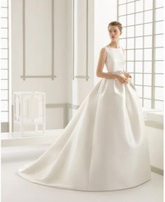 Robe de mariage taffetas princesse