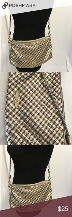 Elliot Lucca crossbody Looks nice just has some stain and dirt inside and outer corner has loose weaving material but can easily be glue in. Elliott Lucca Bags Crossbody Bags