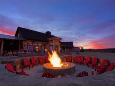 Located just outside of Bend, Oregon is Brasada Ranch, a secluded resort where guests are welcomed with a s'mores kit that they can enjoy fireside after horseback riding, golfing or lounging at the organic spa.