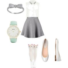 school outfit #8 by paty-porutiu on Polyvore featuring polyvore fashion style River Island Tiger of Sweden Carlo Pazolini Breda