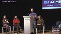 Discurso de David Bravo en Podemos Almería