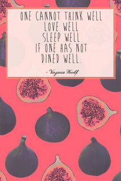 'One cannot think well, love well, sleep well if one has not dined well.' #Worldbookday