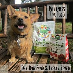 Wellness Tru Food Dry Dog Food and Treats Review #Sponsored Rat Dog, Old Mother Hubbard, Liver Recipes, Dog Food Reviews, Chicken For Dogs, Probiotic Foods, Free Chickens