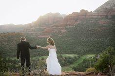 Sedona Red Rock Wedding || Cameron & Kelly Studio