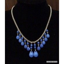Blue Necklace Blue Necklace, Jewelry Collection, Pearls, Style, Fashion, Moda, La Mode, Beads, Fasion