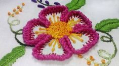 Hand Embroidery: Fan