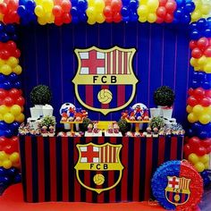 Updates from paperstudioeu on etsy messi birthday, soccer birthday cakes, football birthday, boy Soccer Birthday Parties, Football Birthday, Birthday Party Themes, Messi Birthday, Soccer Birthday Cakes, Barcelona Soccer Party, Party Pops, Backdrops For Parties, For Your Party