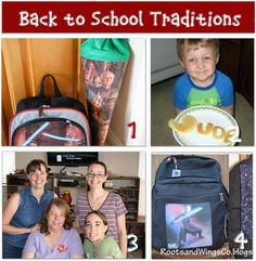 Tip Junkie: 12 First Day Of School Activities {traditions}